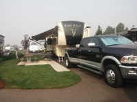 Location where Champagne owners can share information on experiences, issues, and solutions with their fifth wheel.
