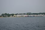 Approaching the harbor at Mackinac Island