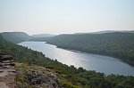 Lake of the Clouds in Porcupine Mountains State Park
