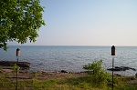 Right on the water of Lake Superior