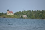 Lighthouse in Copper Harbor