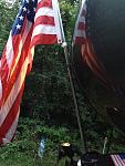 Flag w light