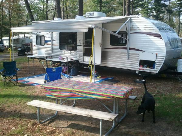 Dometic awning tie down poles - Forest River Forums