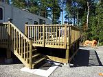 Deck building...