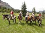 Riding in Montana