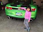 My 6yr is claiming this as her car when she turns 16.