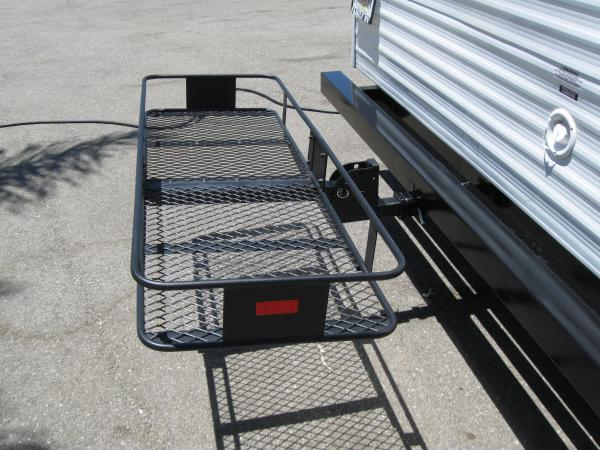 Bike Carrier On Rear Bumper Of Trailer Forest River Forums