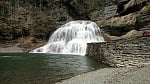 Buttermilk Falls Ithica New York