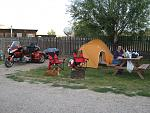 Goldwing camping