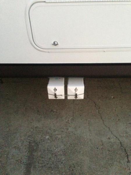 Underbody storage