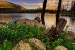 Peacful Evening, Wall Lake