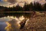 Evening, Washington Lake Campground