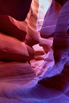 Winding Path of Color, Lower Antelope Canyon, Navaho Tribal Park