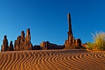 Yei Bi Chei and Totem Pole, Monument Valley Tribal Park