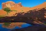 Water Pocket Reflection, Monument Valley Tribal Park