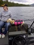 Live to camp and fish. Macgregor Lake Mt 2012