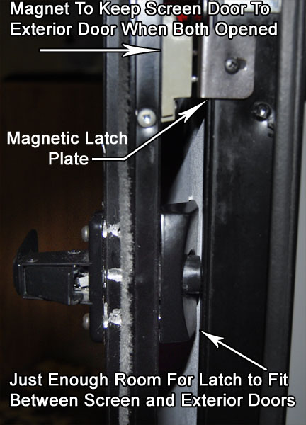 Another View Of My Ongoing Struggle With A Screen Door Latch
