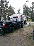 My rig in RV park.