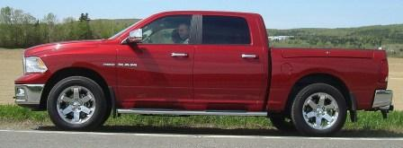 May 2009: first adventure in my brand new 2009 Ram 1500 CC 4x4