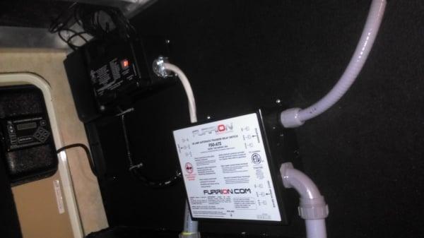 Progressive 50amp surge protector install