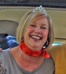 Paula in her tiara!