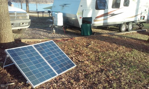 Solar first use