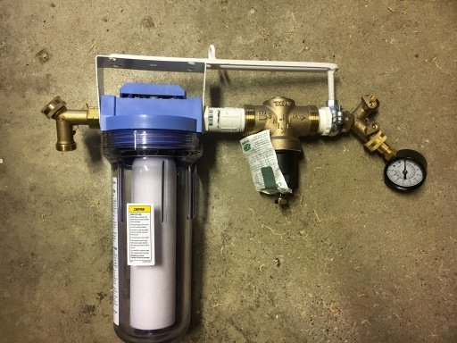 new water filter regulator assembly forest river forums. Black Bedroom Furniture Sets. Home Design Ideas