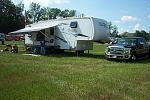 Camping at Races