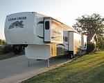 Our trailer and new 5th wheel